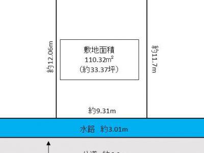 松伏町 田中3丁目 売地