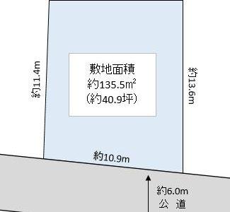 川口市 戸塚東4丁目 売地