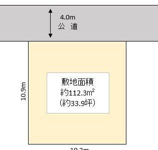 春日部市 藤塚 売地