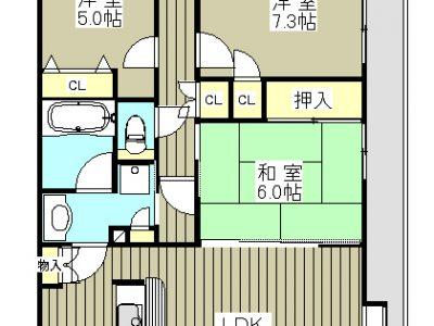 オーベル越谷蒲生壱番館