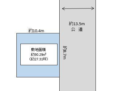川口市 戸塚東3丁目 売地